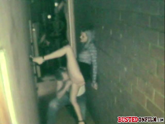 sex in an alley